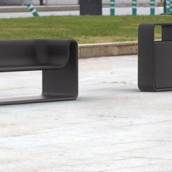 Mago Thin Bench Seat 1