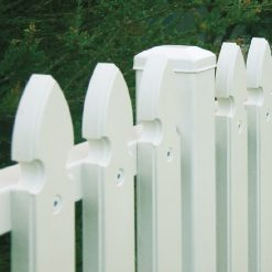 Recycled Plastic Picket Fence 2