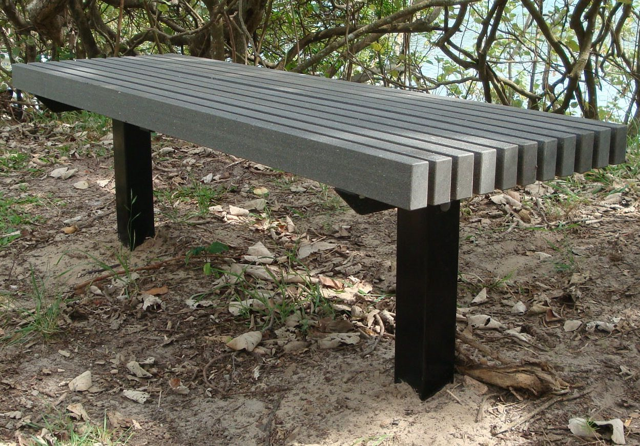 Material For Outdoor Furniture Part - 50: See The Penseur Seat Below That Is Made Form 100% Recycled Materials.