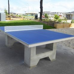 AusCast Outdoor Concrete Table Tennis Table Blue 24207-5