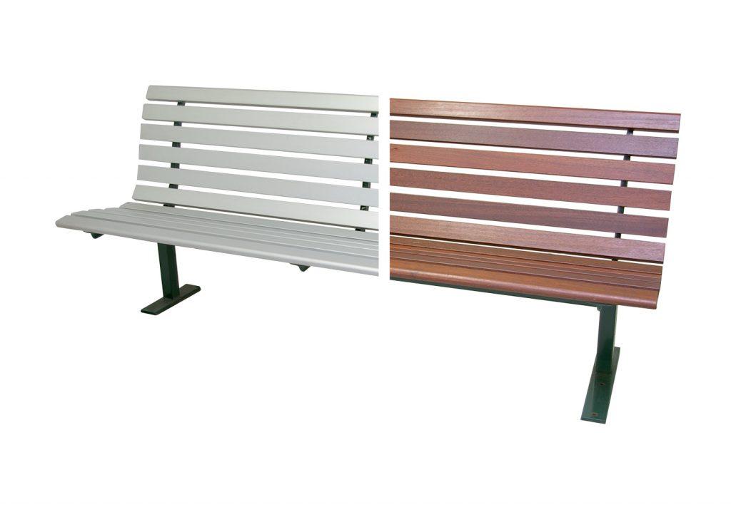 Gatta Seat Aluminium Timber 1