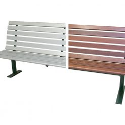 Gatta Seat Aluminium Timber 1