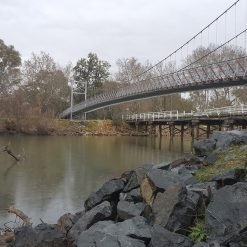 Cable Supension Bridge Wodonga 6