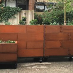 Abilitybox Planter Boxes Corten Steel 1