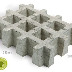AusCast GrassStone Grass Growing Paver 1
