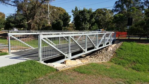 3rd Settlement Reserve Bridge Finished