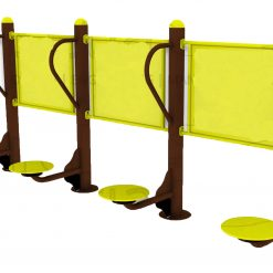 Outdoor Fitness Equipment - 4 Level Twister