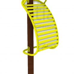 Outdoor Fitness Equipment - Back Stretching Rack
