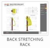 Outdoor Fitness Equipment - Back Stretching Rack Thumb