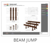 Outdoor Fitness Equipment - Beam jump Thumb