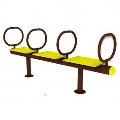 Outdoor Fitness Equipment - BodyCurl Seat-f