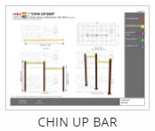 Outdoor Fitness Equipment - Chin Up Bar Thumb