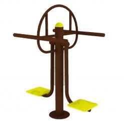 Outdoor Fitness Equipment - Double Torso Swing