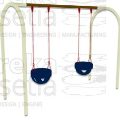 Arch Swing 2 Seater - Bucket