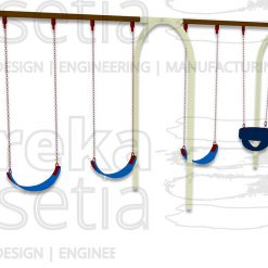 Arch Swing 4 Seater - Belt & Bucket