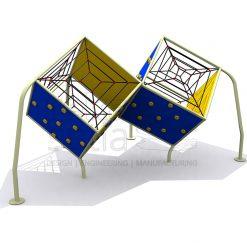 Playground - Climbers - Cube 02 Multi Climber
