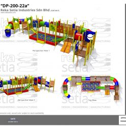 Playground - Indoor - DP-200-22a