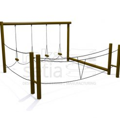 Playground - Obstacle Course - Adventure Station 1