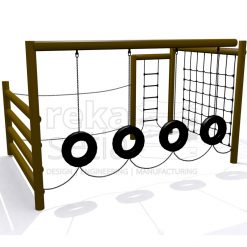 Playground - Obstacle Course - Adventure Station 2