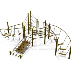 Playground - Obstacle Course - Balancing Over Hill