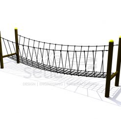 Playground - Obstacle Course - Canyon Bridge