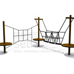 Playground - Obstacle Course - Circle Obstacle Station 3