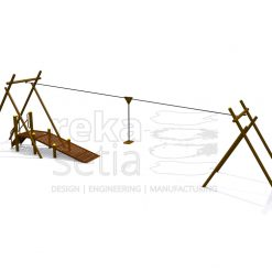 Playground - Obstacle Course - Flying Fox