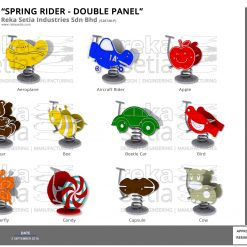 Spring Rider Double Panel 1