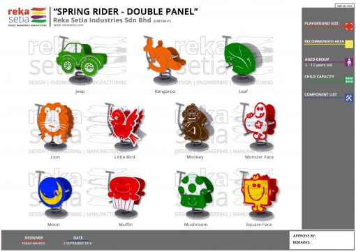 Spring Rider Double Panel 3