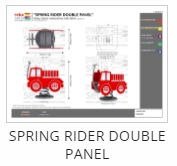 Spring Rider Double Panel Thumb