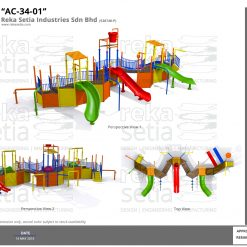 Water Play Cluster - AC-34-01