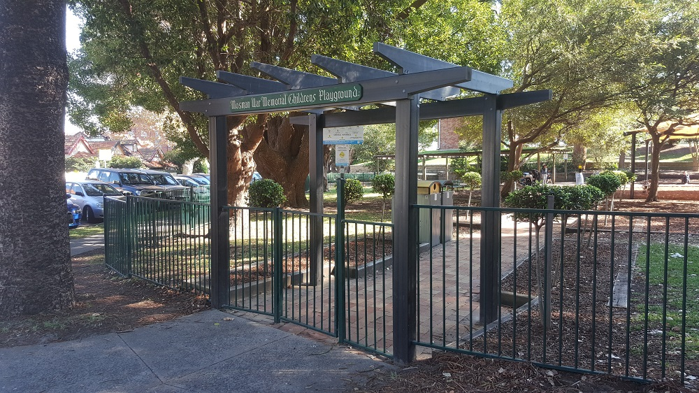 Roocycle Pergola - Mosman War Memorial Childrens Playground 5