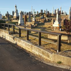 Roocycle ET Arris Fence Waverley Cemetery 1
