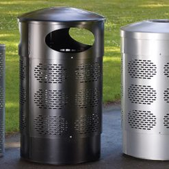 Street Furniture Brio Litter Bin 1