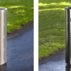 Street Furniture Brio Litter Bin 2