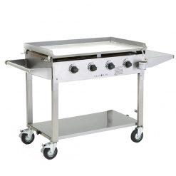 Clubman Trolley BBQ Stainless Steel