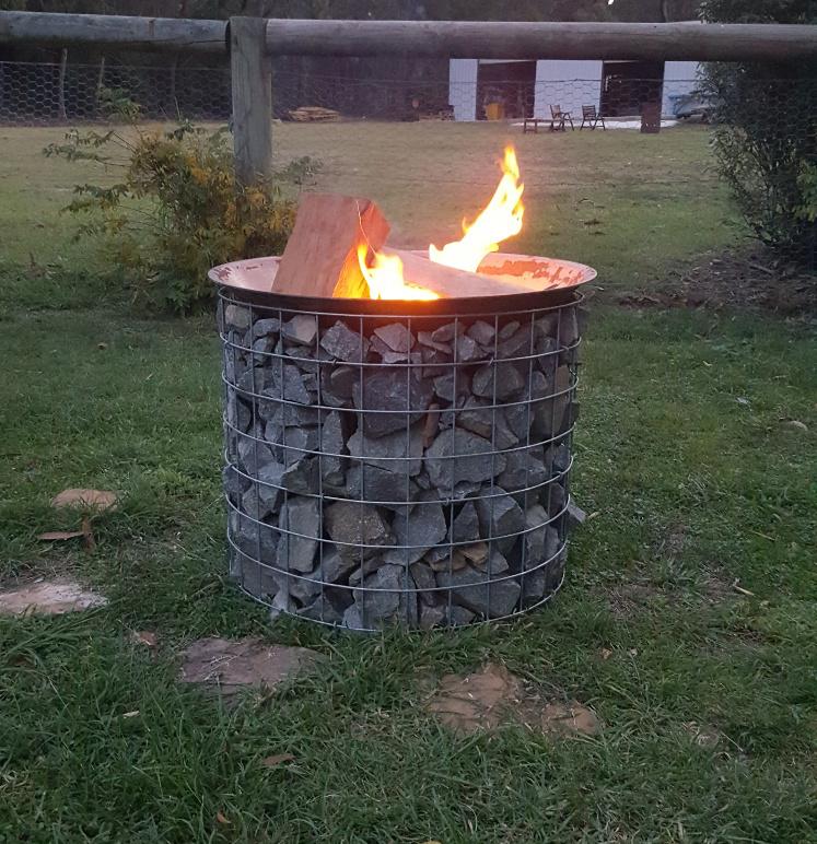 Gabion Fire Bowl 12