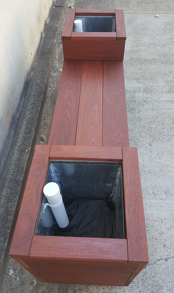 Ability Planter Bench 3