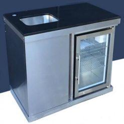 Outdoor Kitchen Grillmaster Sink Fridge Combinaton