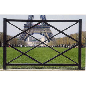 Moodie Barrier 2 Post Criss Cross Fence Moodie Outdoor