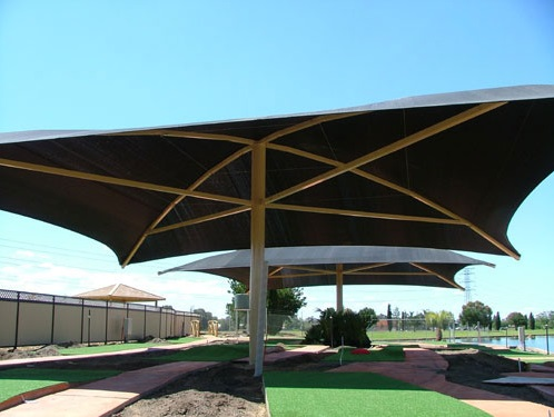 Moodie Shade Structures Permanent Umbrella Moodie