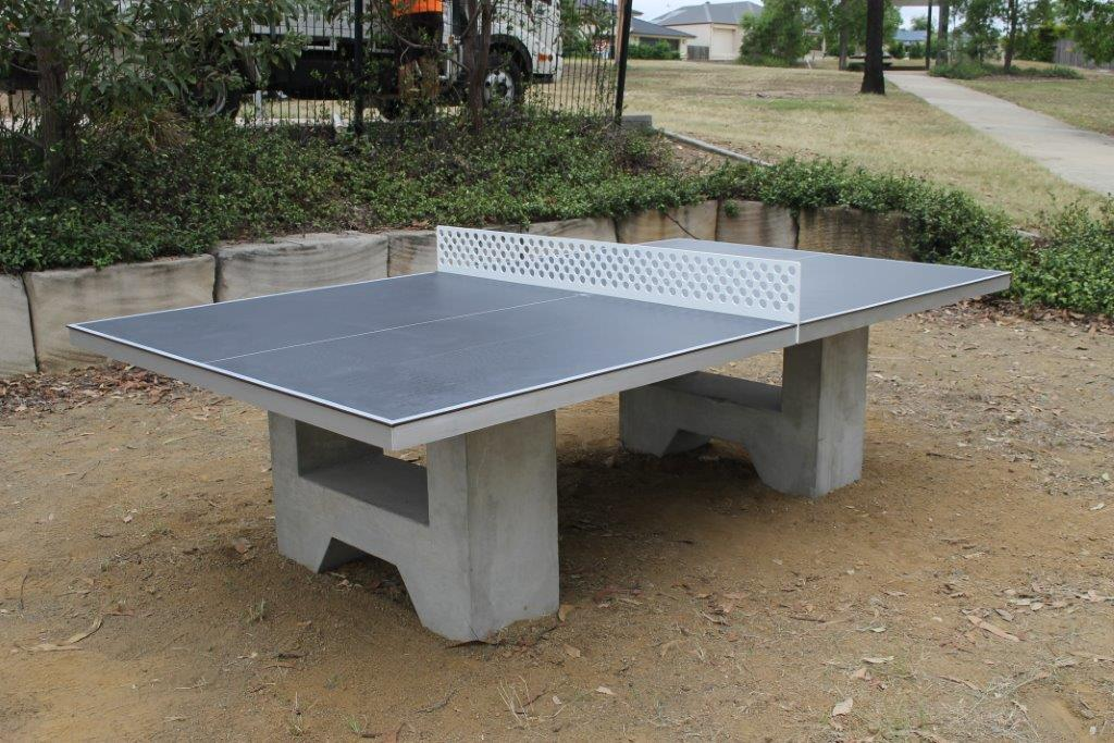 Auscast Concrete Table Tennis Table Moodie Outdoor Products