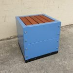 AbilityBench Bench Seat Blue 4