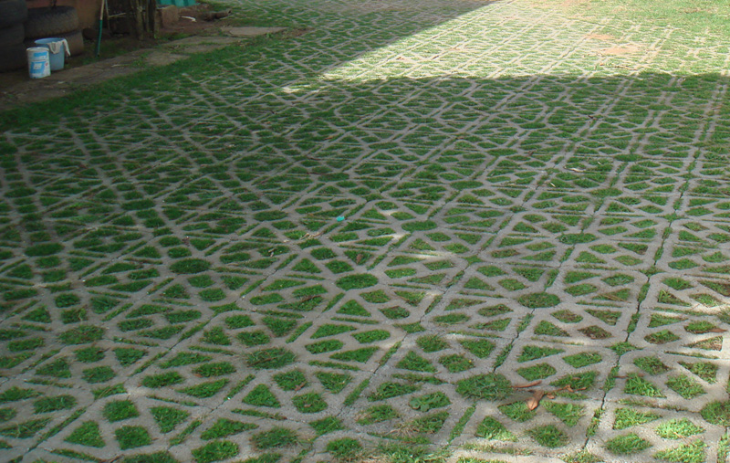 GrassBlock Permeable Grass Growing Paver 4