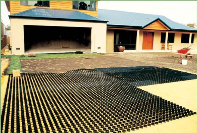 Roocycle GR Grass Reinforcement Pavers 3