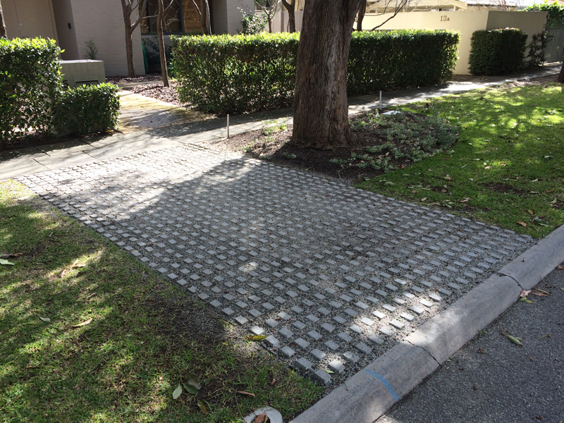 GrassSlab Permeable Grass Growing Paver 7