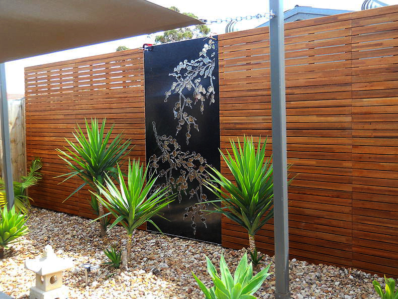 Japanese Garden Fence Privacy Screens