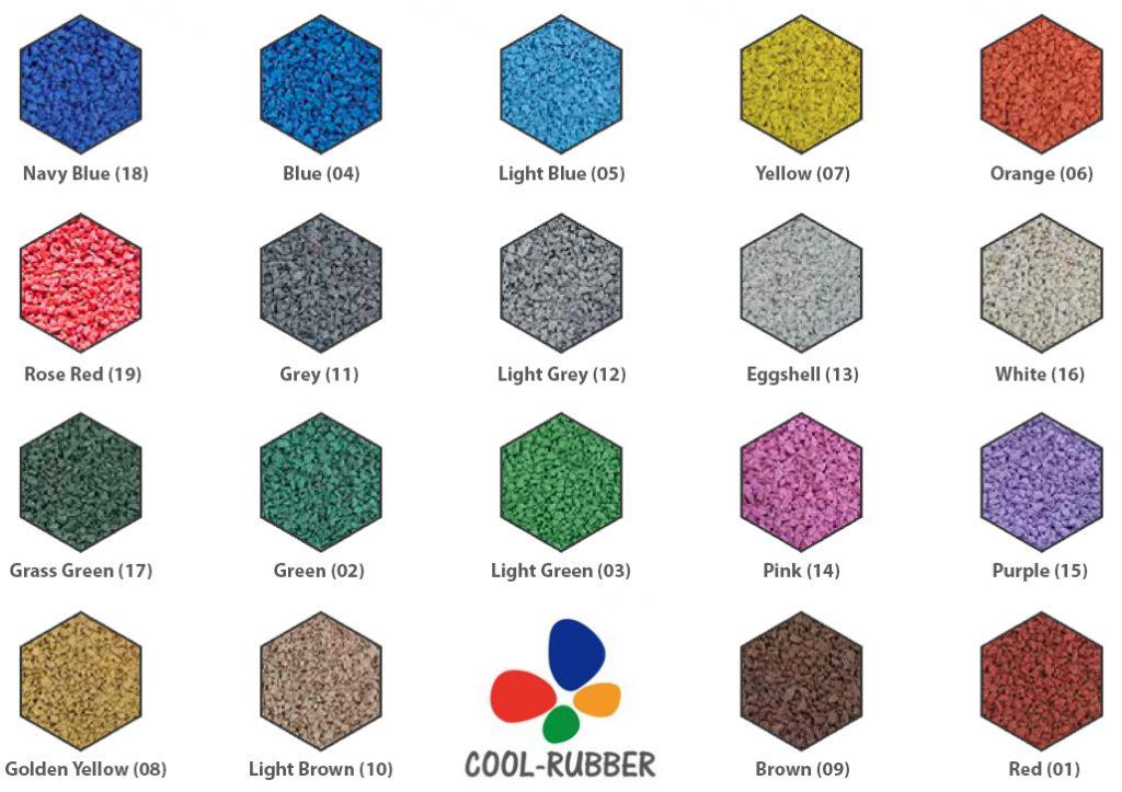 Cool25 Colour Chart