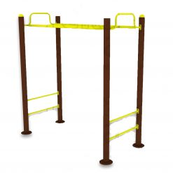 Outdoor Fitness Equipment - Horizontal Ladder-f