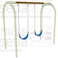Arch Swing 2 Seater - Belt